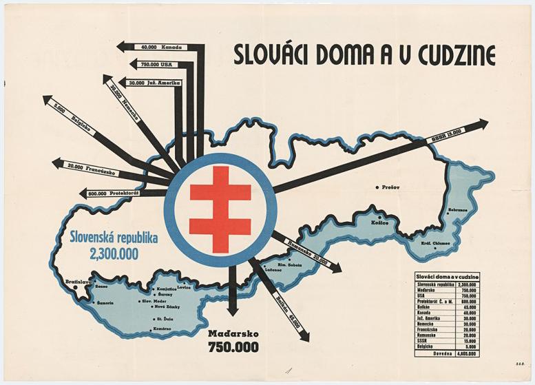 Neznámy autor - Slováci doma a v cudzine, 1939, Slovenský národný archív