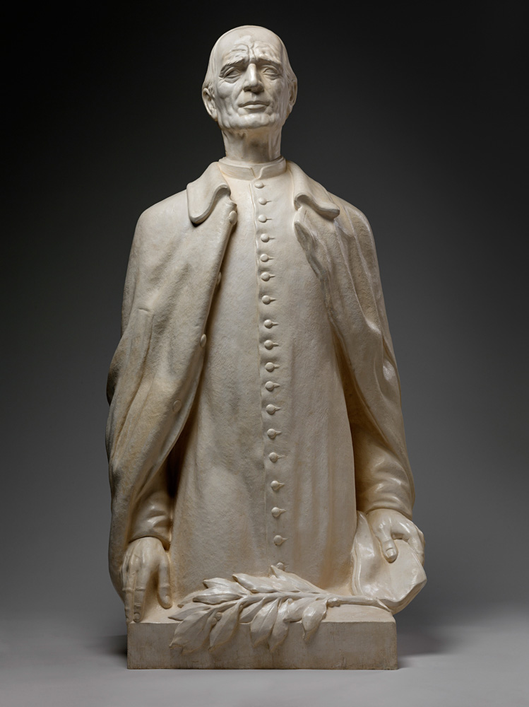 Fraňo Štefunko: Andrej Hlinka. Model sochy pre Snem SR. 1938—1939. SNM – HM, Bratislava