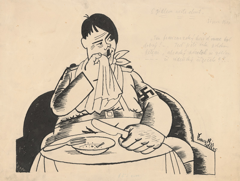 Štefan Bednár: He acquired a taste for it... 1935. SNG, Bratislava