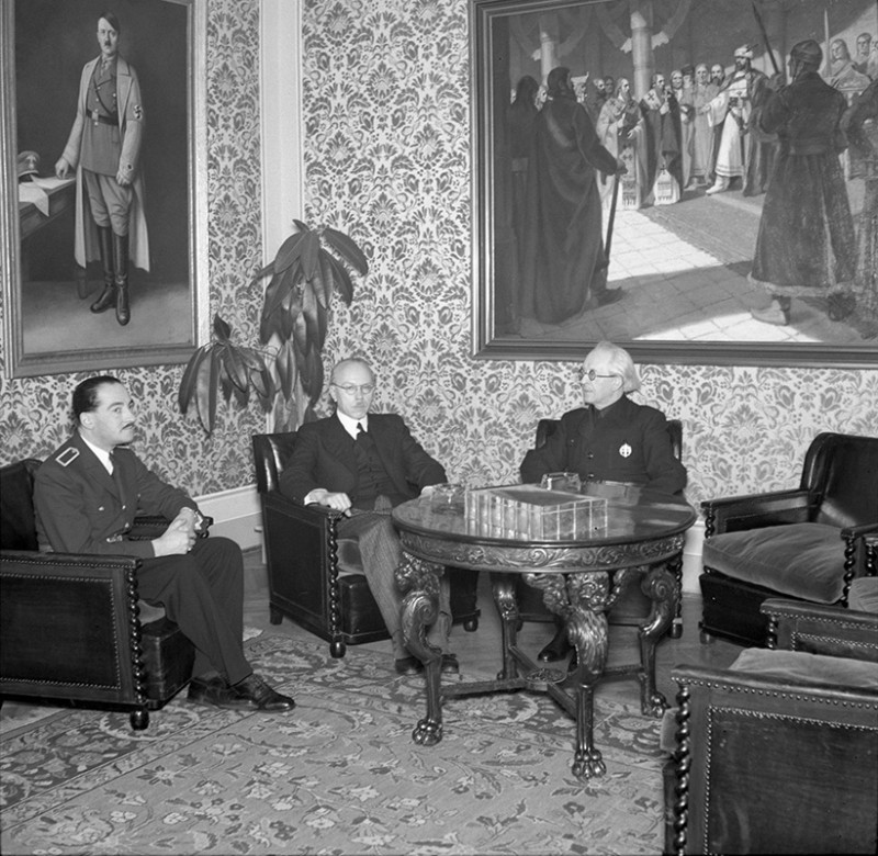 Unknown Author. Audience Rooms of the Prime Minister Vojtech Tuka 2. 1941. SNA, Bratislava – Slovak Press Office