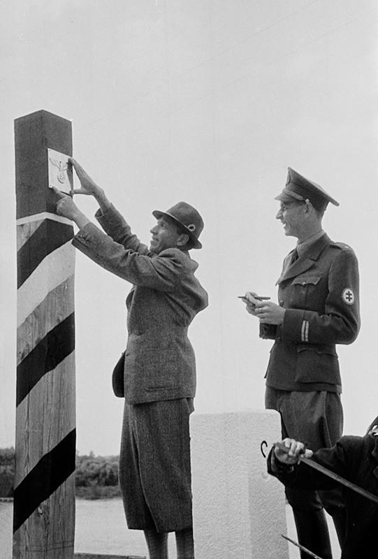 Jozef Nový - Budovanie hraníc medzi Slovenskou republikou a Protektorátom Čechy a Morava, 1939, Súkromný majetok