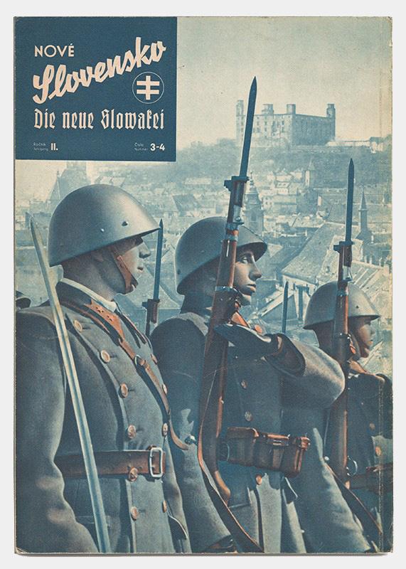 Neznámy autor - Obálka časopisu Nové Slovensko, 1940 – 1941, Súkromný majetok