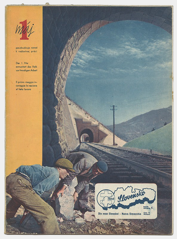Unknown Author - New Slovakia Magazine Cover, 1944, Private Property