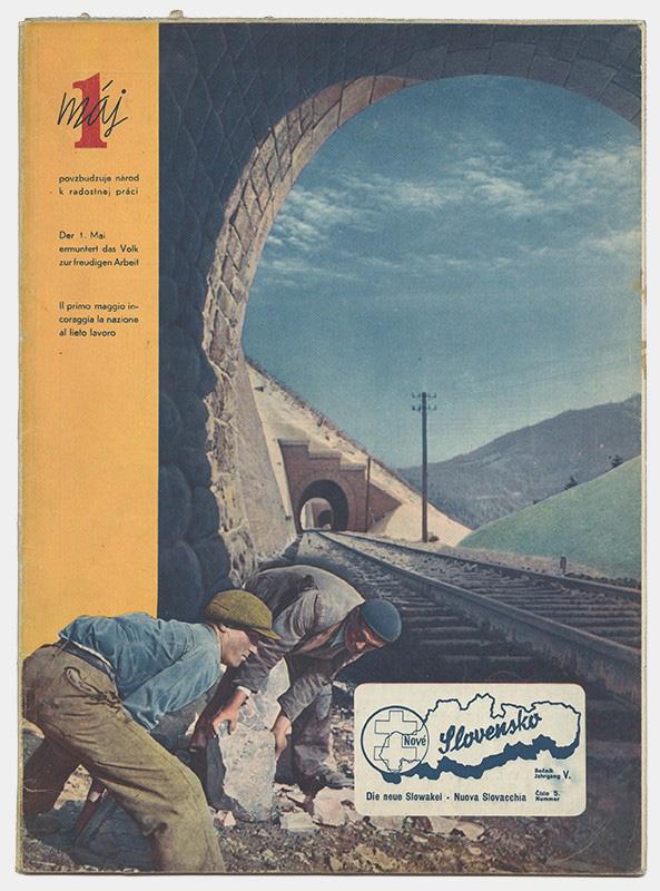 Neznámy autor - Obálka časopisu Nové Slovensko, 1944, súkromný majetok