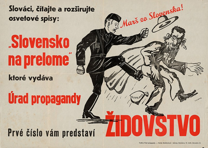 Neznámy autor - Marš zo Slovenska!, 1941 – 1942, Slovenské národné múzeum - archív SNM v Bratislave