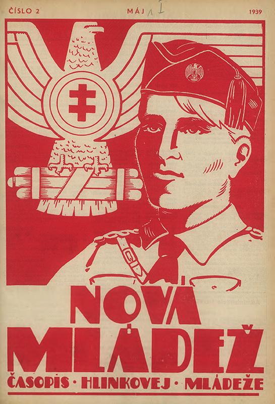 Titulná strana časopisu Nová Mládež, 01.05.1939, Univerzitná knižnica v Bratislave