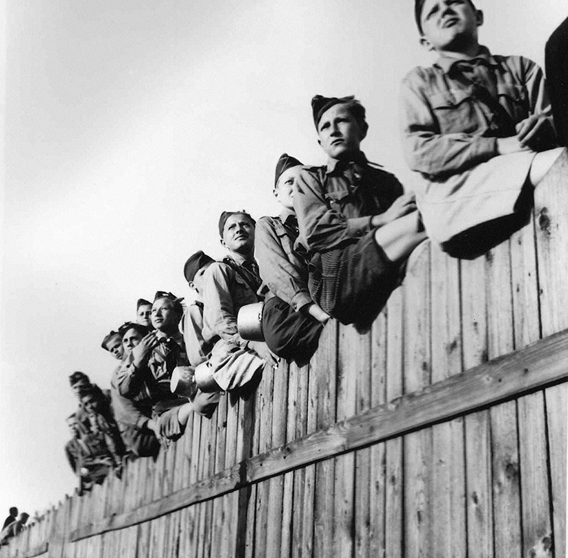 Jozef Teslík - Hlinka Youth Day in Bratislava, 8. 6. 1940., Slovak National Archive, Bratislava - Slovak Press Office