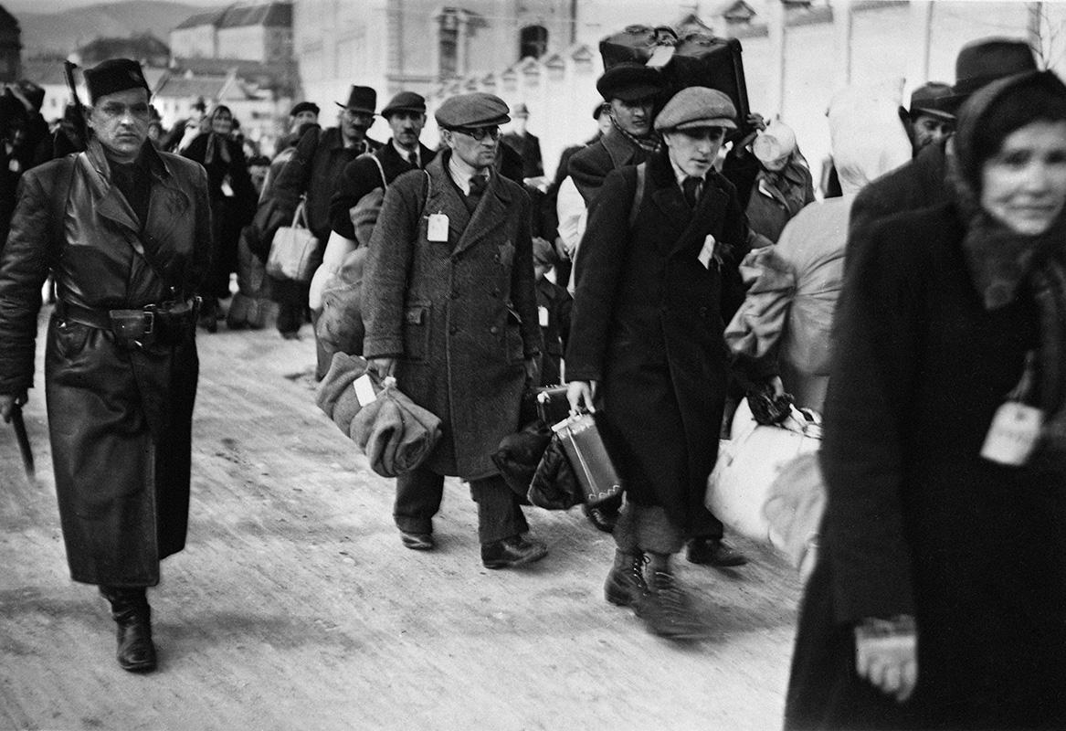Anton Baník - Deportácie židovského obyvateľstva v Nitre, 1942,  Slovenský národný archív, Bratislava – fond STK