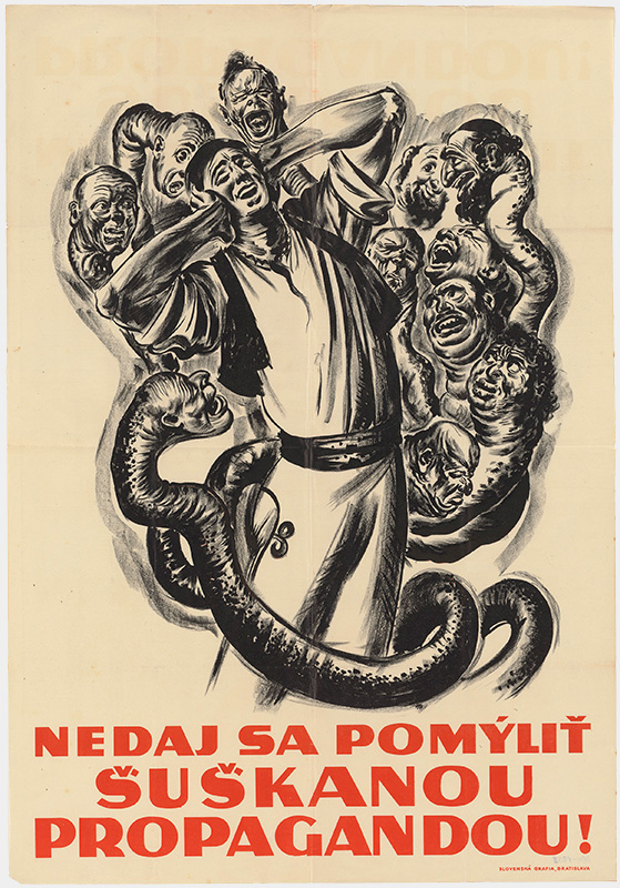 Probably Andrej Kováčik - Do Not Be Confused by the Whispering Campaign!, 1939, Slovak National Museum - Museum of the Slovak National Councils