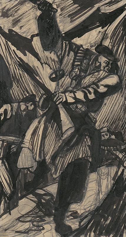 Ján Novák - Uprising, 1944, Slovak National Gallery